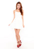 Sanchia Shoelace Dress (White)