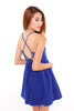 Sanchia Shoelace Dress (Blue)