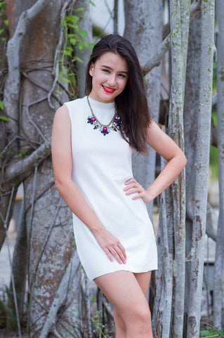 Darica Dress (White)