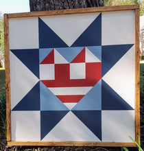 Load image into Gallery viewer, American Heartland Barn Quilt