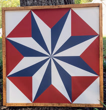 Load image into Gallery viewer, Tin Star Barn Quilt