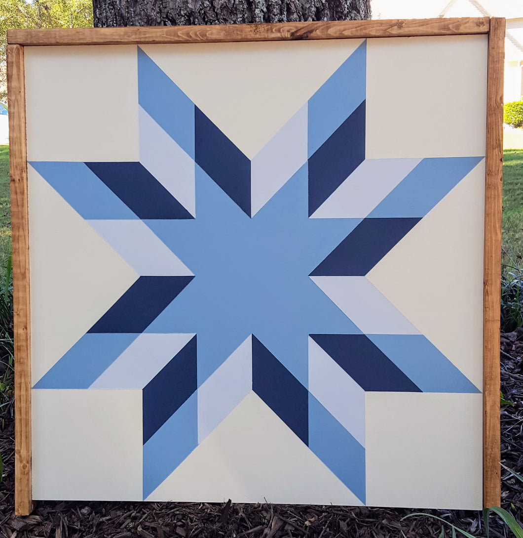 North Star Barn Quilt