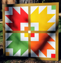 Load image into Gallery viewer, Bear Paw Barn Quilt