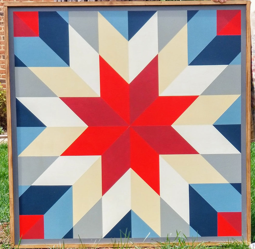 Shooting Star Barn Quilt
