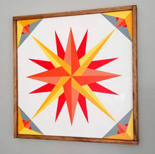 Load image into Gallery viewer, Rising Sun Barn Quilt