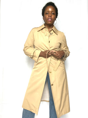 Khaki Trench Coat by London Fog