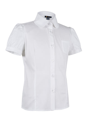 Girls Short Sleeve Blouse
