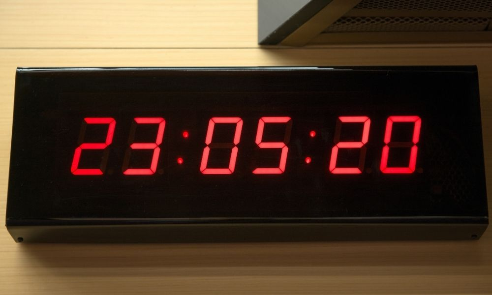How a Countdown Clock Can Help With Time Management