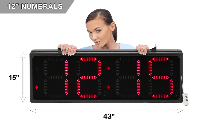 Bigtimeclocks Large Led Countdown Amp Other Digital Clocks