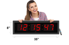 Load image into Gallery viewer, EXTRA LARGE 5″ LED COUNTDOWN / UP CLOCK (4429730218030)