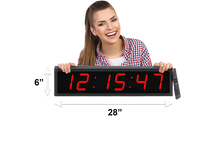 "Load image into Gallery viewer, LARGE 4"" LED COUNTDOWN/COUNT UP CLOCK (4429730512942)"