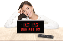 Load image into Gallery viewer, SUPER LARGE CALENDAR ALARM CLOCK WITH 16 ALARMS AND FULL REMOTE CONTROL (4429730807854)