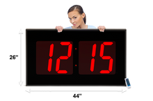 Load image into Gallery viewer, THE BIGGEST 15″ NUMERAL WALL CLOCK (4429730775086)