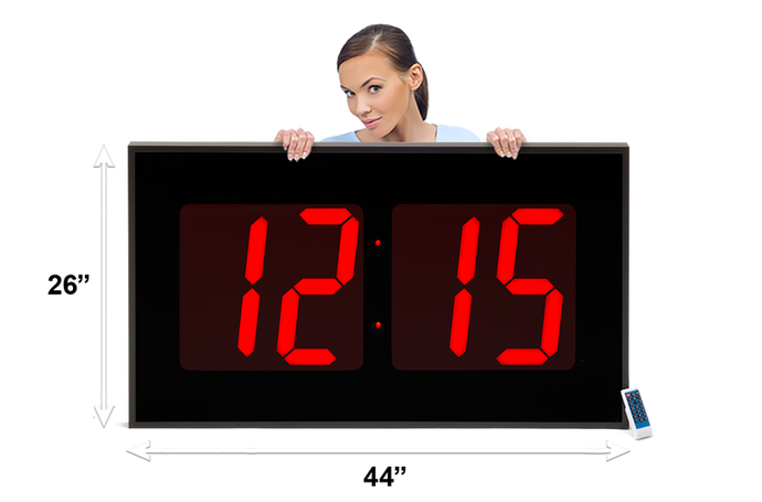 THE BIGGEST 15″ NUMERAL WALL CLOCK (4429730775086)