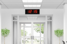 Load image into Gallery viewer, THE GIANT 8″ NUMERALS RED LED CLOCK (4429731004462)
