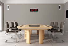Load image into Gallery viewer, THE HUGE 5″ NUMERALS RED LED CLOCK (4429731069998)