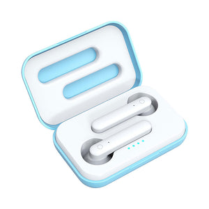 Cute HI-FI  True In Ear Wireless  Stereo Sports Bluetooth Earphone with Charging Box