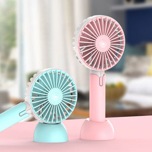 Desktop Portable Handheld Mini Silent Electric Fan