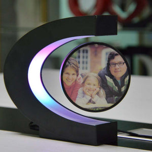 Magnetic Levitation Personalized Photo Night Light Photo Frame