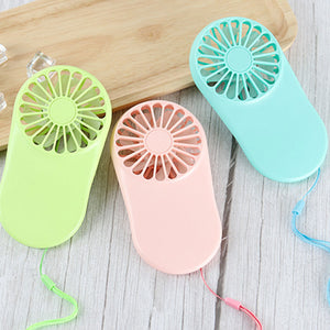 Student Cute Portable Handheld Mini Pocket Silent Electric Fan