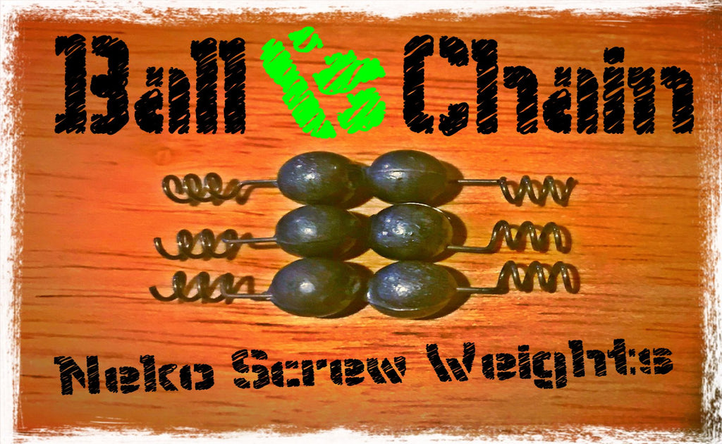 12. Ball & Chain - Neko Screw Weights