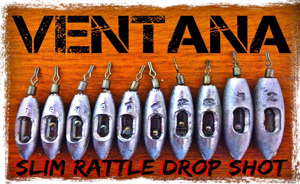 Rattling Drop Shot Weights - Team Davies Ventana Drop Shot Sinkers