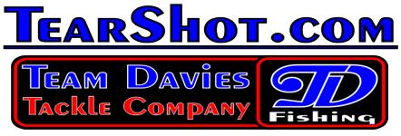 Tear Shot - Team Davies Tackle Company - Tournament Quality Drop Shot Sinkers and Fishing Tackle