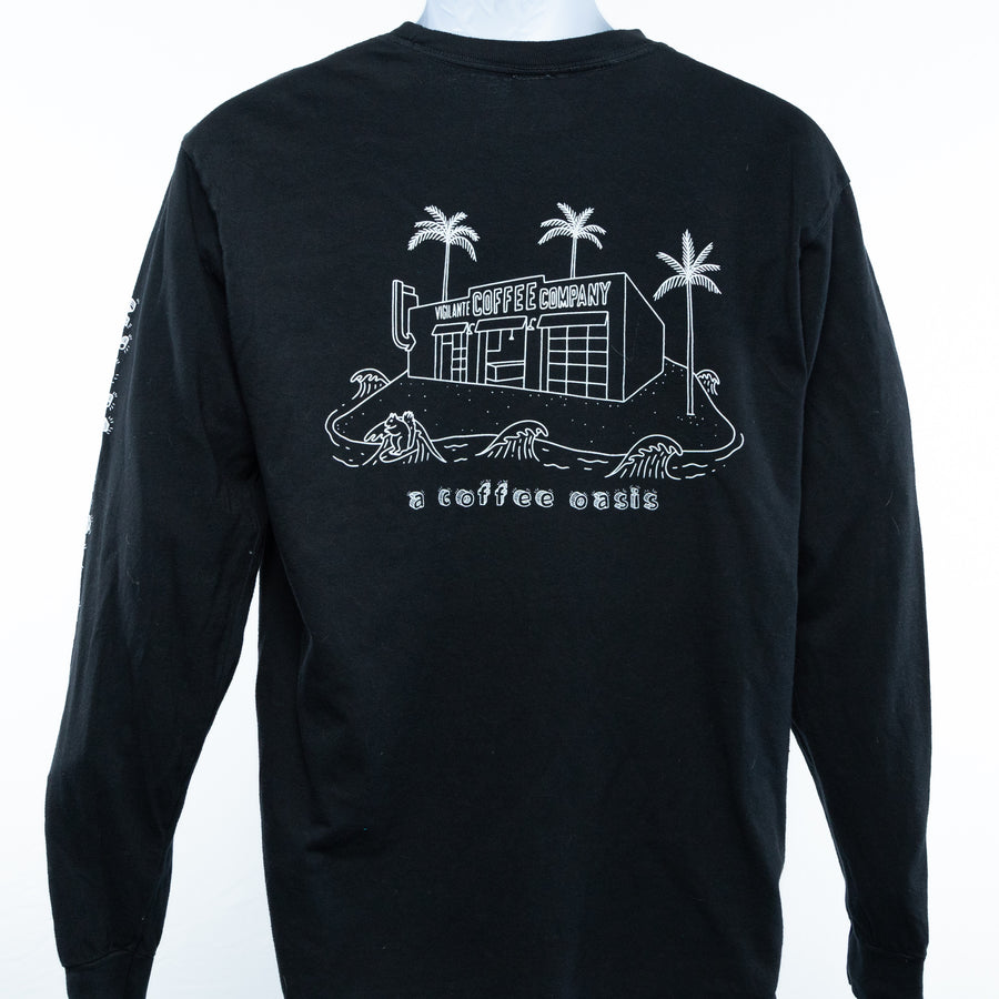 Coffee Oasis Long Sleeve Tee