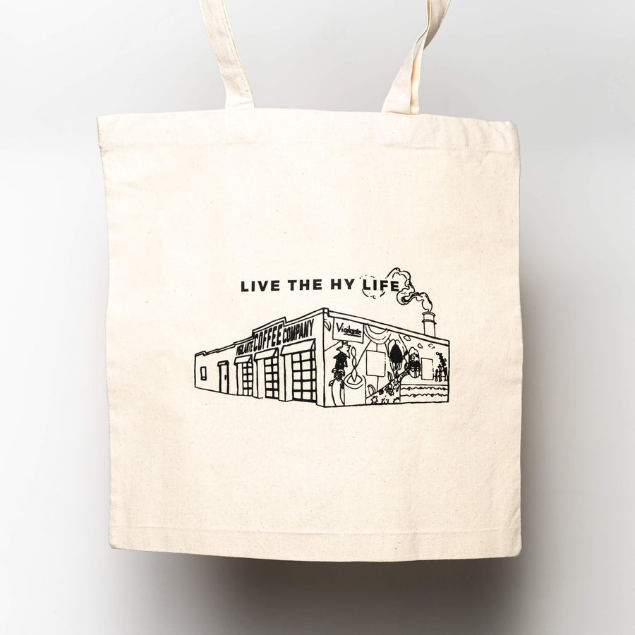 Live The Hy-Life Tote