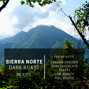 Sierra Norte Blend: A Dark Roast