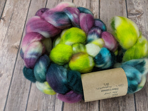 Fresh Berries - superwash BFL sock fiber