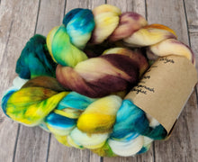 Load image into Gallery viewer, Calypso space dye - superwash targhee sock fiber