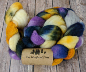Mischief Managed - superwash BFL sock fiber