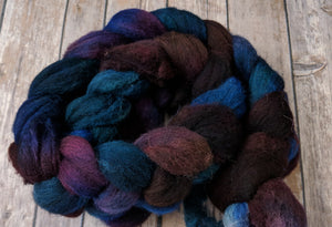 Samhain Night - natural grey shetland