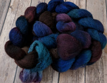 Load image into Gallery viewer, Samhain Night - natural grey shetland