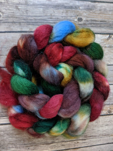 The Bear and the Maiden Fair - superwash BFL