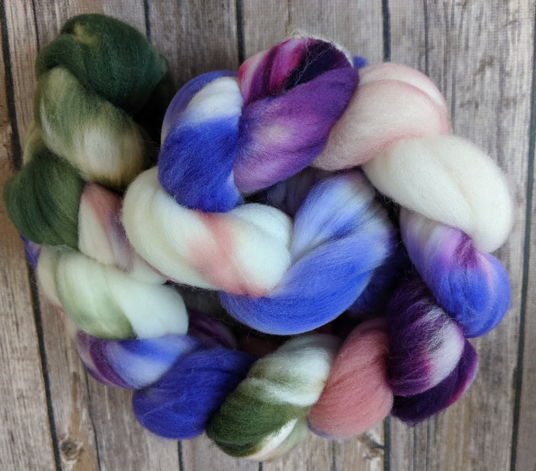 Midsummer night's dream - SW targhee sock fiber