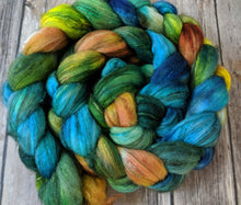 Load image into Gallery viewer, Black River Sunset - merino/yak/silk custom blend