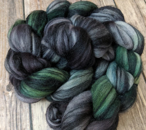 Whomping Willow - merino tussah custom blend