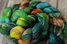 Load image into Gallery viewer, Black River Sunset - merino/silk/flax blend