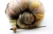 Load image into Gallery viewer, Hogsmeade - Tibetan style spindle and fiber set