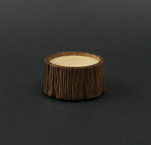 Load image into Gallery viewer, Spinning bowl in walnut and curly maple