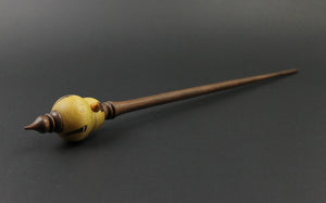 Goldfinch bead spindle