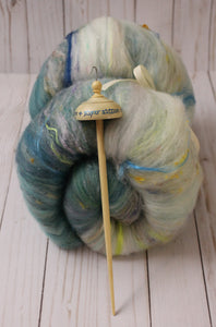 """Argonath"" drop spindle and batt set"