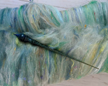 "Load image into Gallery viewer, ""Argonath"" Russian style spindle and batt set"