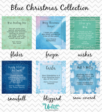 Load image into Gallery viewer, Blue Christmas Collection