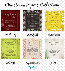 Christmas Papers Collection