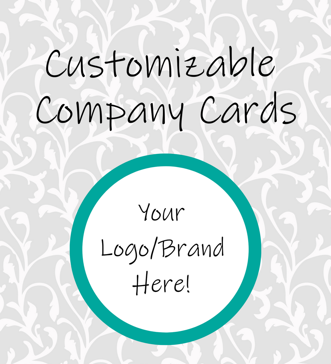 Customizable Company Card