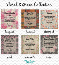 Load image into Gallery viewer, Floral & Grace Collection
