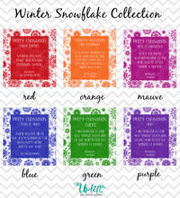 Load image into Gallery viewer, Winter Snowflake Collection
